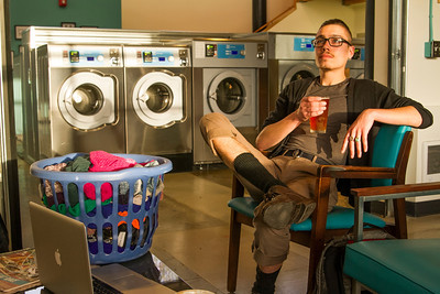 Spin Laundry: Beer-Drinking While Laundering