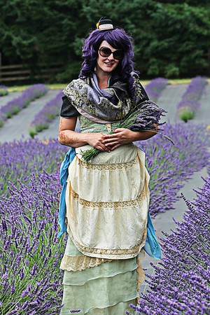 Lady in Lavender