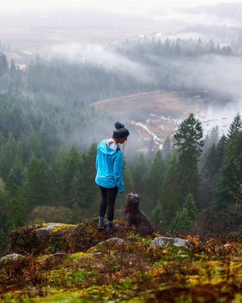 Lizzy Gadd and Pepper