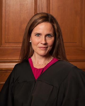 Amy Coney Barrett in 2018