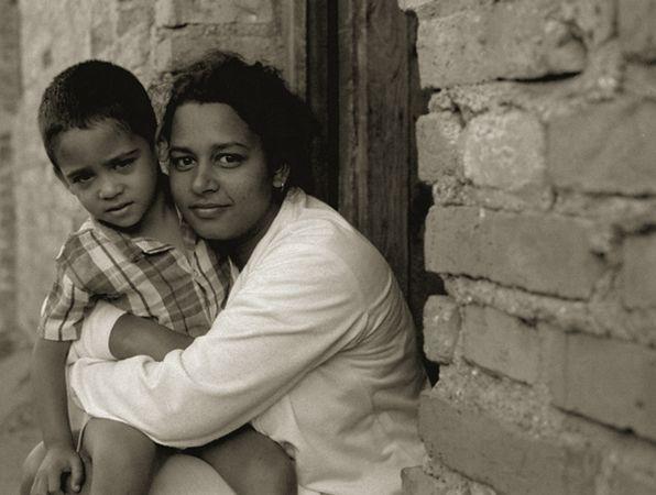 mother-&-son-on-stepsTrini