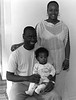 Habi and husband and child, Harlem - Senegal