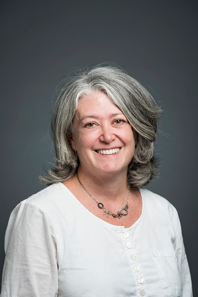 Beth Rivelis, Administrative Assistant, Counseling and Psychological Services. Photo by:  Ron Aira/Creative Services/George Mason University