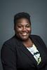 Janae Johnson, Fairfax Campus Manager, University Information. Photo by:  Ron Aira/Creative Services/George Mason University