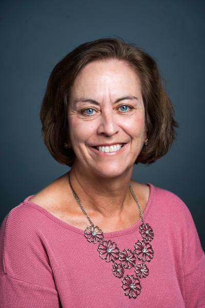Julie Roberts, Office Coordinator, Economics.  Photo by Evan Cantwell/Creative Services/George Mason University