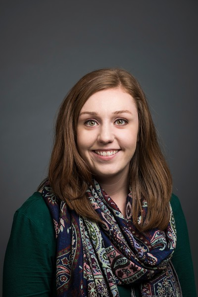 Molly Baldovin, CVPA, Assistant to Director & Marketing Coordinator, School of Music. Photo by:  Ron Aira/Creative Services/George Mason University