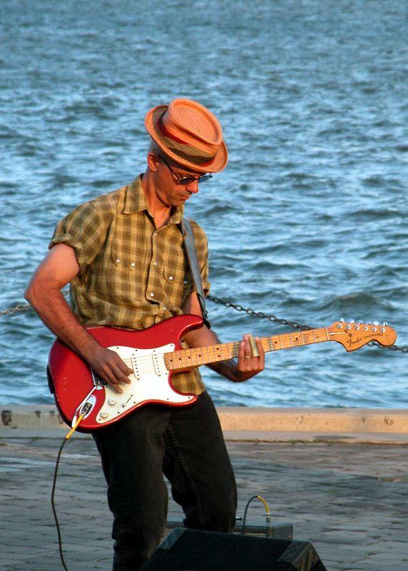 James Mastro at Sinatra Park - Hoboken, NJ