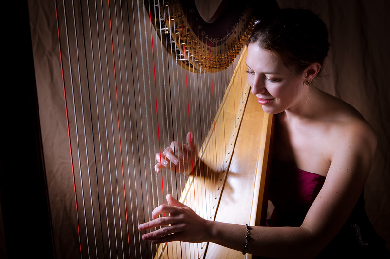 Sarah Harpist Musician for Weddings and Parties