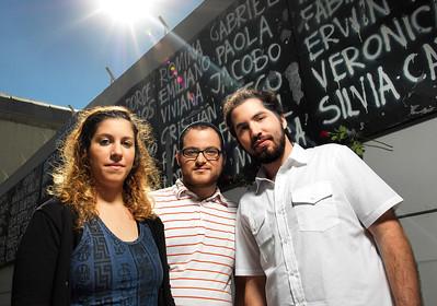 Kevin, Valeria y Jony