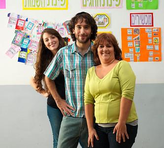 Martin, Tatiana y Varda