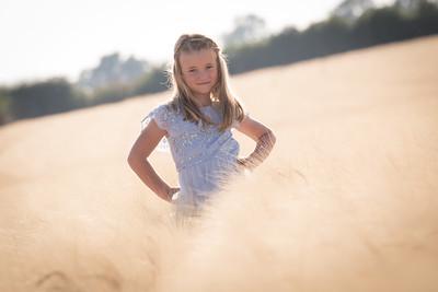 cornfield portrait