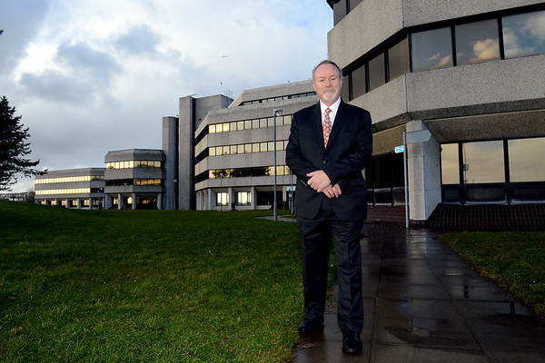 Portrait of businessman, Sir Terry Matthews