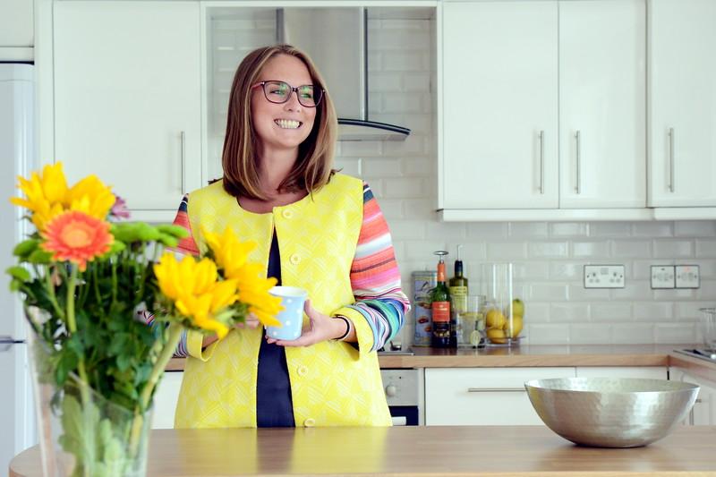 Lifestyle portrait image for magazine use.