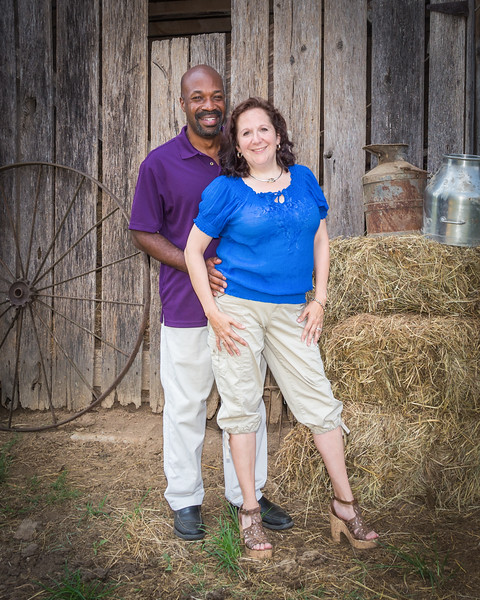 Elaine and Duane Moore - 20th Anniversary Portraits - July 2014