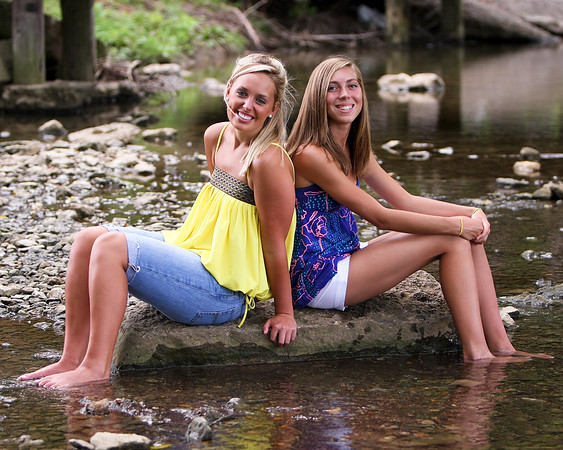 Alicia Griffin and Heather Hughes - Joint Senior Portraits