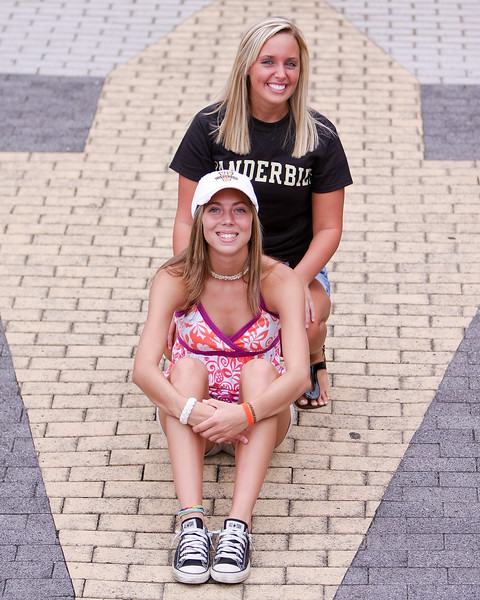 Alicia Griffin and Heather Hughes - Joint Senior Portraits - Part 2