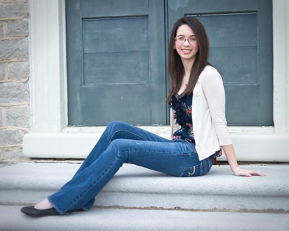 Emily Brooks - Merroll Hyde Magnet School Senior 2012 - 4 x 5 Format