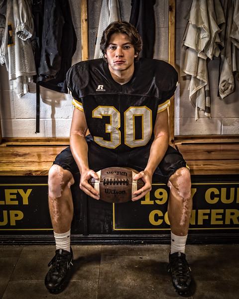 Griffin McAuley - HHS Senior 2018