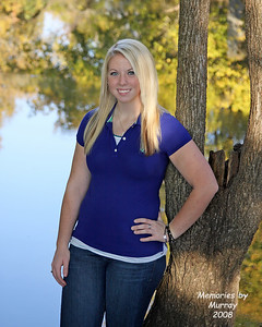 Shelby Nelson, Senior 2009, Casual Jeans, Drakes Creek 2