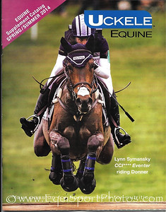 Uckele Equine catalog cover for April 2014.