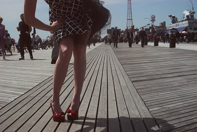 Legs and Lines, Coney Island, 2006