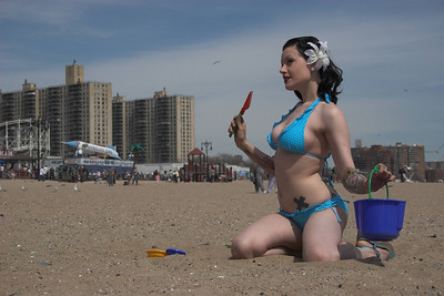 Coney Island Beach, 2006