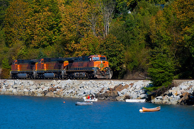CAPTION:CAPTION: Train Engines LOCATION: Boulevard Park, Bellingham, Washington DATE: 9-28-10 NOTES: HEADING: