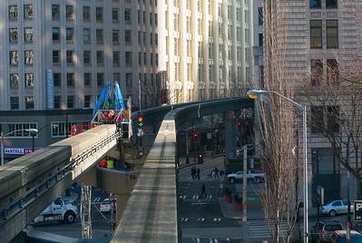 CAPTION: Monorail LOCATION:Seattle, Washington DATE: 1-23-12 NOTES: HEADING: