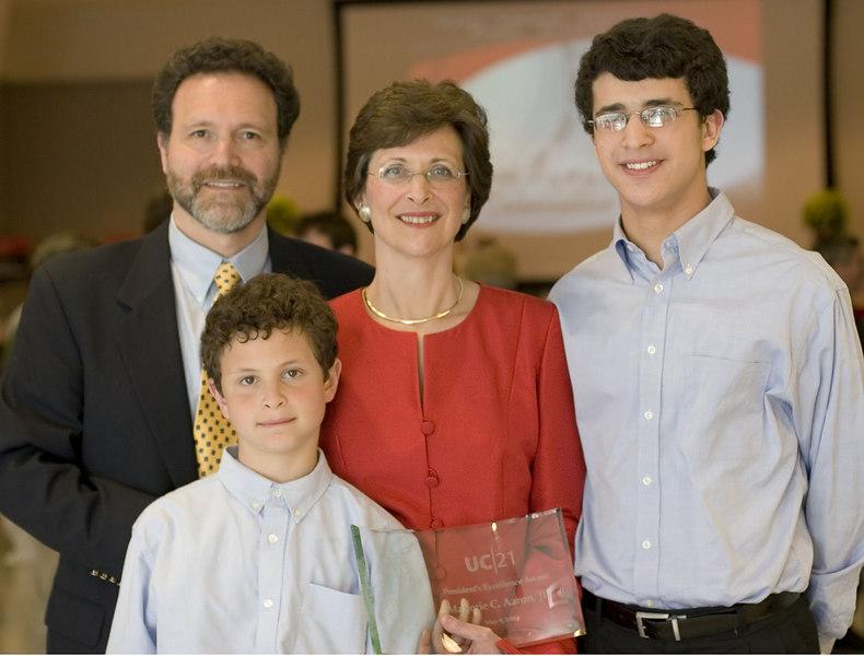 Margie' UC 21 Teaching Award, May 2006