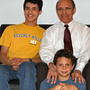 Josh, Elisha & Uncle Sam, Spring 2005