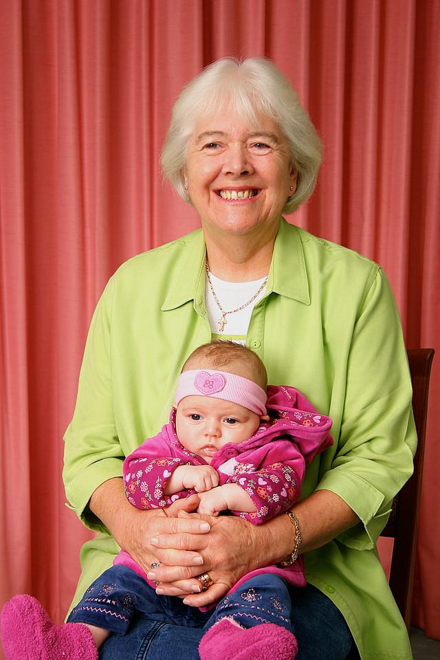 Elizabeth and Saraya Brierley