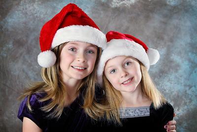Carlee and Katrina Holiday 2010