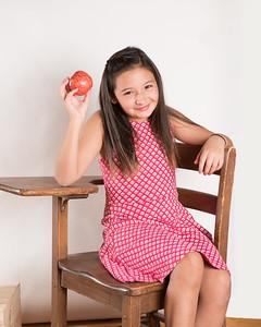 An apple a day keeps the teacher away!