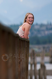 © Paul Conrad/Pablo Conrad Photography Andrea at Priest Point pier in Tulalip, Wash.