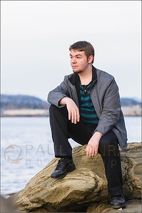 Bellingham Portrait Photographer - Damian at Boulevard Park