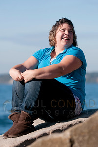 © Paul Conrad/Pablo Conrad Photography  Portrait session with Rebecca Bates at Boulevard Park, in Bellingham, Wash., on Sunday afternoon September 30, 2012.