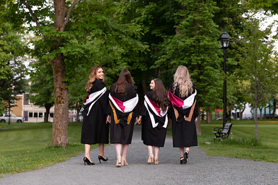 Convocation Friends Natalie Hiscock Nicole Moore Elise Parsons Caitlin Mullaley