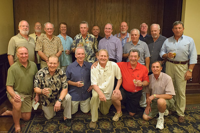 Front Left: Dan Desmedt, Mike Mulcrone, Don Drummond, George Vetter, Dan DiMartino, Charlie DosSantos, Bob Prulucki, George Williams (Mike Bro), Morris Powers, John Lewis, Bill Chiappetta, Mike Williams, Paul DosSantos (Charlie's Bro), Jack Block (Rusty BF), Jerry Sampson, Bob Kocher, Dan Henry, Tony Angelo