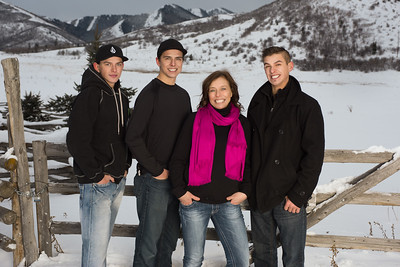Christine and her boys