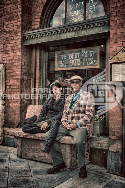 Scott and Eliya outside the No Name