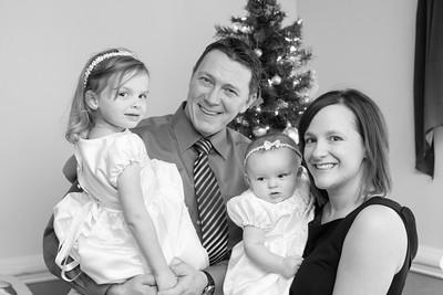 Wrens's Baptism Portraits -- December 21, 2014