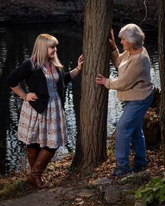 Sarah & Carolyn at Thanksgiving 11.22.12