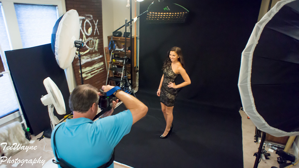 Miss Wake County 2013 - Alex Downing, Behind the Scenes