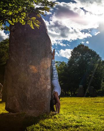 Motina Austin Yoga At Columcille Megalith Park
