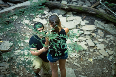 Nathan Proposed to Carly at Ricketts Glen
