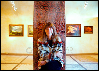 © Pablo Conrad Photographer  Photographer, artist, singer, composer. Lynn Goldsmith in her  Basalt, Colo., gallery.