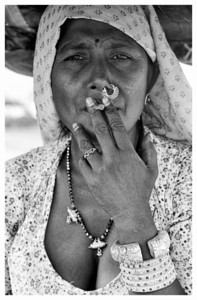 """""""Smoking Billie"""" Jaipur.  © 2011 KT WATSON"""