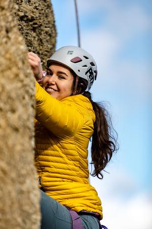Rock Climbers at Flatrock