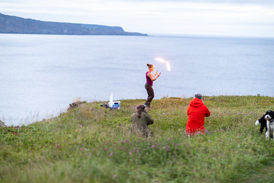 Models on Outer Cove Field