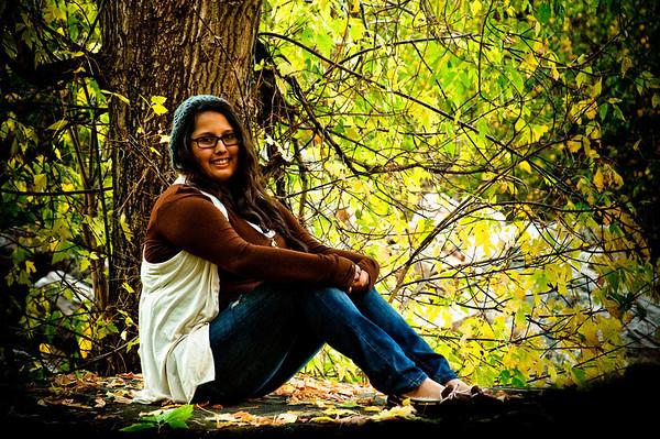 Kristen in Big Cottonwood Canyon
